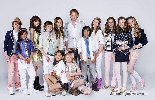 Avro Junior Songfestival finalisten 2010 Mano