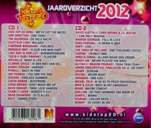 CD Kids Top 20 2012 Mano