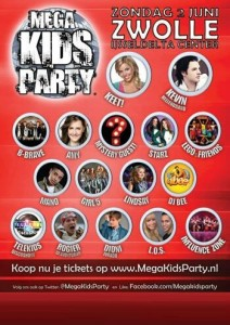 Mega Kids Party Mano