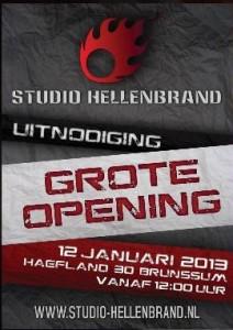 Opening Studio Hellenbrand met Mano