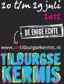 Opening Tilburgse kermis 2012 Mano