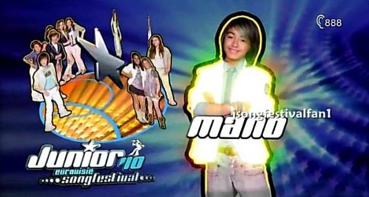 Mano in da house junior songfestival 2010 Mano